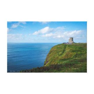Impressão Em Canvas Torre de Moher, os penhascos de Moher, Ireland.
