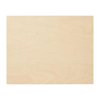Impressão Em Madeira Canvas feitas sob encomenda da madeira 14x11