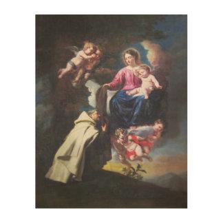 Impressão Em Madeira Estoque de St Simon