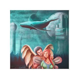 Impressão Em Tela A colar do anjo e a princesa Fada