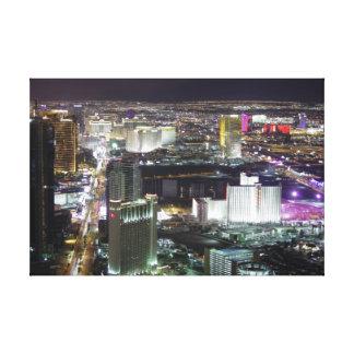 Impressão Em Tela Antena de Las Vegas, a oeste da tira