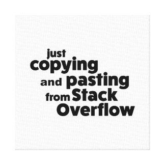 Impressão Em Tela Apenas copiando