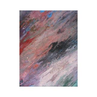 Impressão Em Tela Arco-íris ou cor