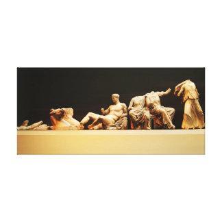 Impressão Em Tela arte do grego clássico