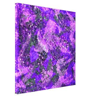 Impressão Em Tela Arte geométrica floral abstrata dos azulejos de