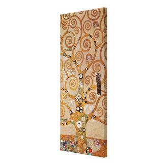Impressão Em Tela Árvore de vida por Klimt, símbolo estilizado de