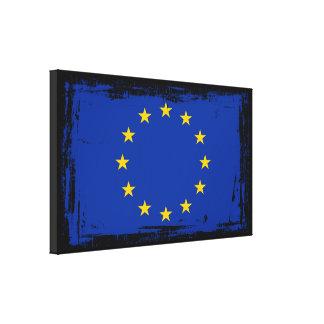 Impressão Em Tela Bandeira da União Europeia