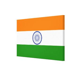Impressão Em Tela Bandeira de India Ashoka Chakra