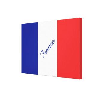 Impressão Em Tela Bandeira do francês Tricolore de France
