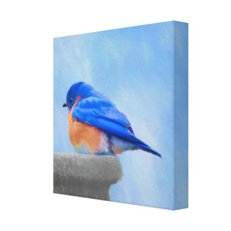 Impressão Em Tela Bluebird