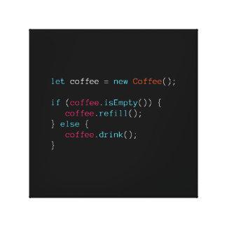 Impressão Em Tela Café