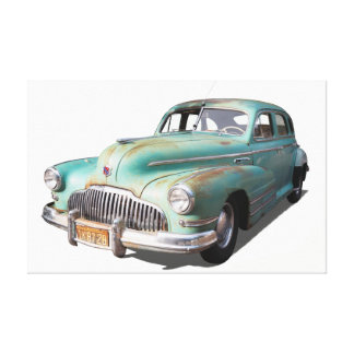 Impressão Em Tela Carro clássico