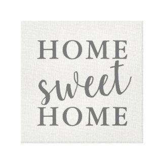 Impressão Em Tela Casa doce Home