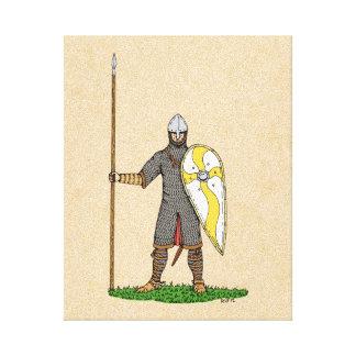Impressão Em Tela Cavaleiro normando, cerca de 1066