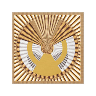 Impressão Em Tela Círculo cósmico cura de Chakra da arte do símbolo
