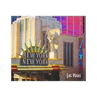 Impressão Em Tela Coleção do viagem de Las Vegas - New York - New