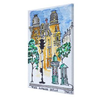 Impressão Em Tela Coloque Alphonse Deville | Paris, France