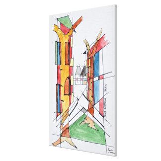 Impressão Em Tela Coloque Dauphine | Ile de la Menção, Paris
