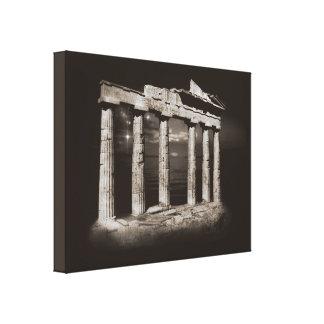 Impressão Em Tela Colunas antigas