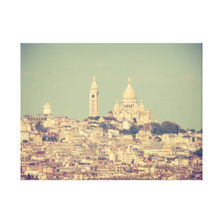 Impressão Em Tela Dar uma olhada Paris à Montmartre em linho