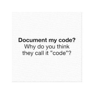 Impressão Em Tela Documente meu código