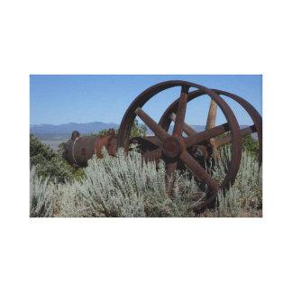 Impressão Em Tela Equipamento da mina de Nevada