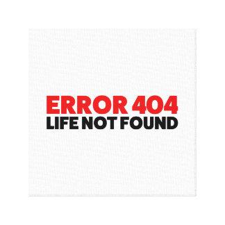 Impressão Em Tela Erro 404