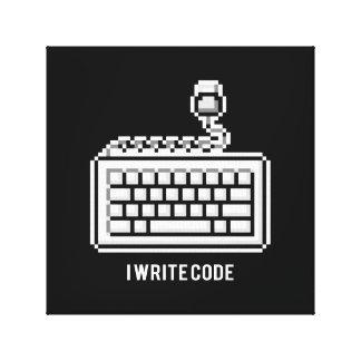Impressão Em Tela Eu escrevo o código