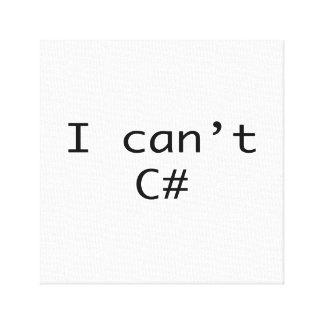Impressão Em Tela Eu não posso ver C# afiado