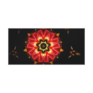 Impressão Em Tela Flor do Fractal