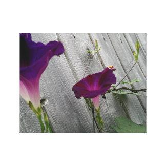 Impressão Em Tela Floral