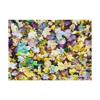 Impressão Em Tela Folhagem de outono