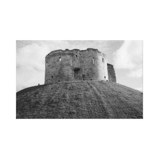 """Impressão Em Tela """"Fortifique arte da parede de um monte"""""""