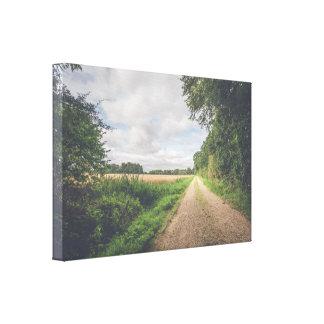 Impressão Em Tela Fuga de natureza em uma paisagem do campo
