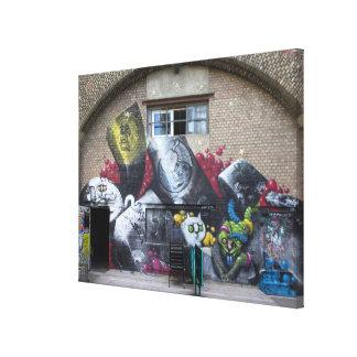 Impressão Em Tela Grafites em Stadtbahnbogen, Wien Österreich