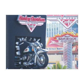 Impressão Em Tela Impacto de motocicleta!!