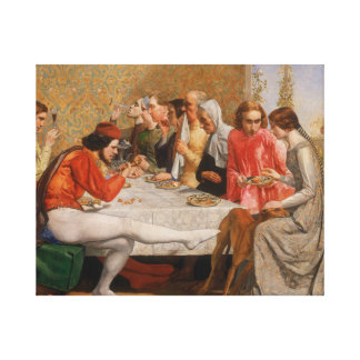 Impressão Em Tela John Everett Millais - Isabella
