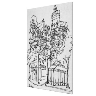 Impressão Em Tela Le Abóbada no bulevar Raspail | Paris, France