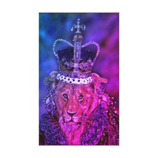 Impressão Em Tela Leoa da rainha