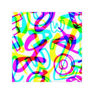 Impressão Em Tela Letras + Números