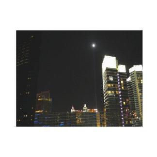 Impressão Em Tela Lua de Vegas