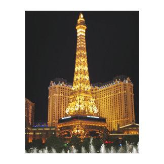 Impressão Em Tela Luzes de Las Vegas