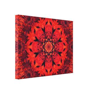 Impressão Em Tela Mandala da flor | de Chakra | Lotus da raiz