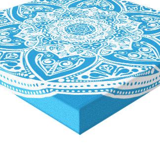 Impressão Em Tela Mandala do Bluebird