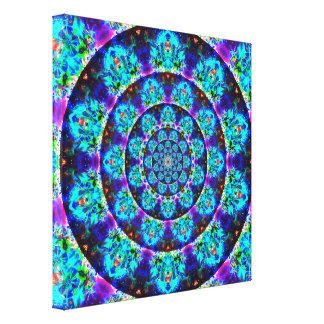 Impressão Em Tela Mandala do túnel da Multi-Cor