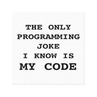 Impressão Em Tela MEU CÓDIGO - piada de programação