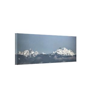 Impressão Em Tela Montanhas