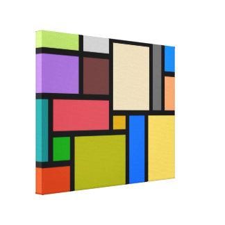 Impressão Em Tela Mosaico