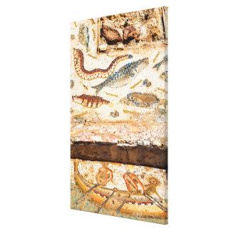 Impressão Em Tela Mosaico romano antigo