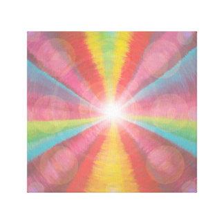 Impressão Em Tela Multi túnel leve colorido
